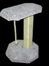 24 inch sisal scratching post with perch - $49.99 and $15 shipping. With quantity of 2 gets free shipping on 2nd one!