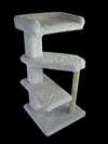 39 inch Half spiral cat tree with perch - $129.99 and $25 shipping.