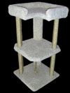 Tri Level Cat Tower with Free Shipping!